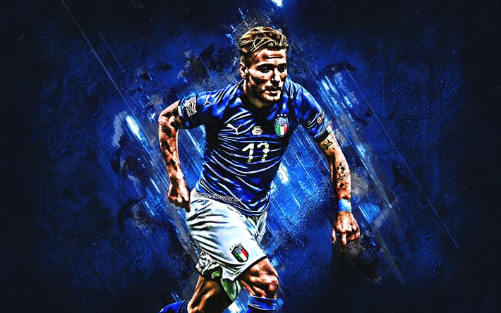 تحميل خلفيات سيرو متحرك إيطاليا المنتخب الوطني لكرة القدم مهاجم