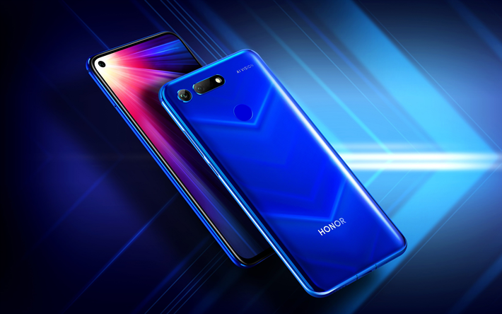 Huawei Honor 20, 4k, mobile phones, 2019, smartphones, close-up, Huawei