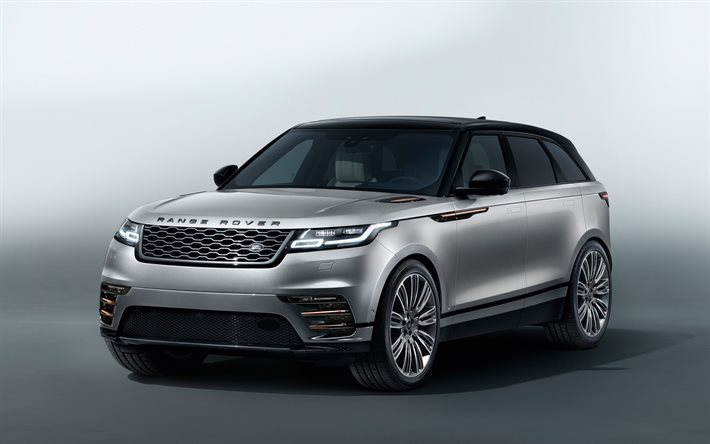Download Wallpapers Land Rover Range Rover Velar 2017 New
