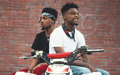 21 Savage, American singer, photo shoot, DJ, Metro Boomin