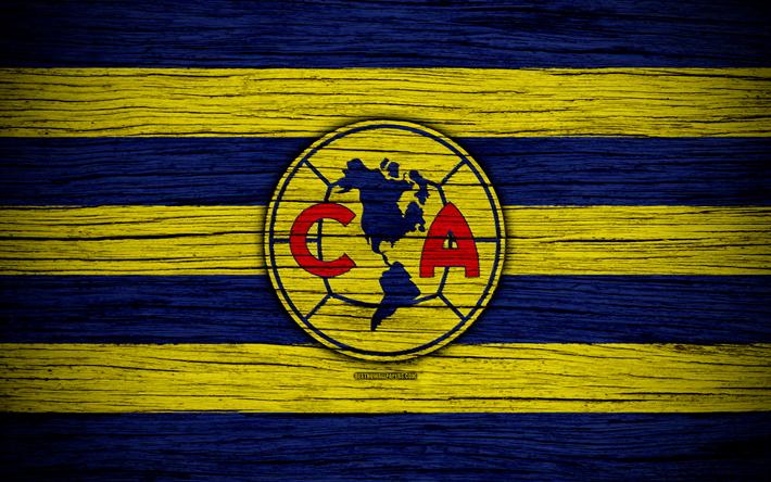Download Wallpapers Club America Fc 4k Liga Mx Football Primera