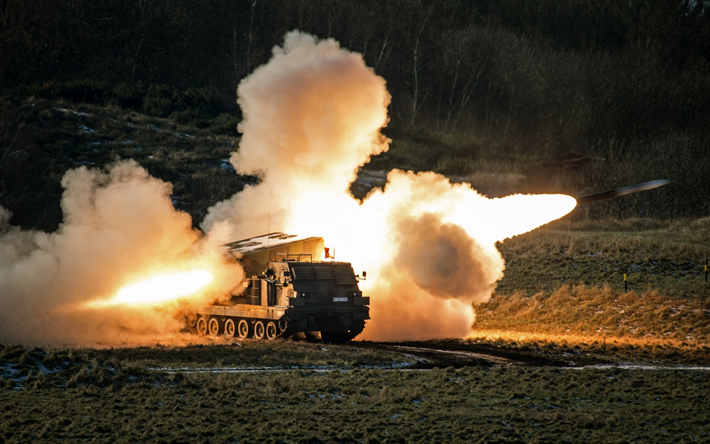 MARS, M270 MLRS, USA, Multiple Launch Rocket System, US missile systems, United States, NATO, MLRS