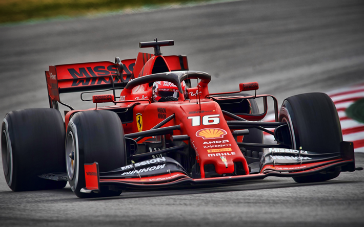Download Wallpapers Charles Leclerc 4k Ferrari Sf90