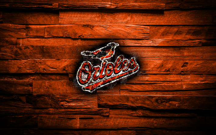 Baltimore Orioles, 4k, scorched