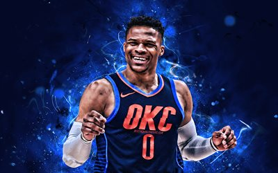 Russell Westbrook Cars >> Download wallpapers Russell Westbrook, OKC, basketball ...