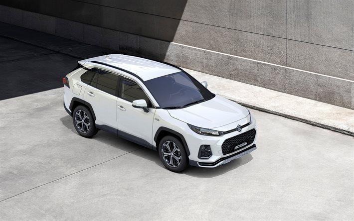 Download wallpapers Suzuki Across, 2021, front view ...