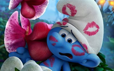 Smurfs 3, The Lost Village, 2017, New cartoons, Smurfs
