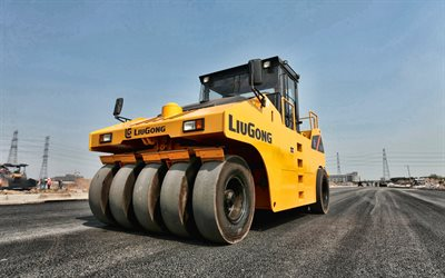 LiuGong  626R, road rollers, 2021 rollers, construction machinery, special equipment, rollers, construction equipment, LiuGong, HDR