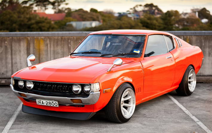 Toyota Celica Liftback, 1977, 2000 ST, RA35, Retro Sports Car, Japanese