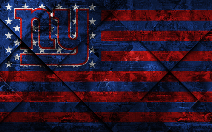Download Wallpapers New York Giants 4k American Football