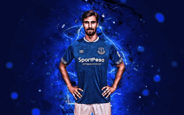 Download Wallpapers Andre Gomes, Portuguese Footballers