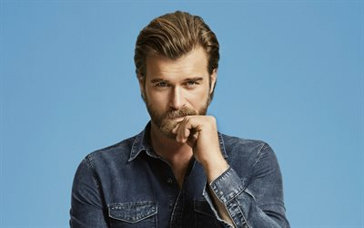 Kivanc Tatlitug, portrait, turkish actor, photoshoot, popular actors
