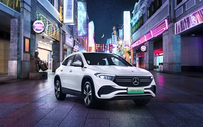 Mercedes-Benz EQA 300 AMG, 4k, H243, 2021 cars, crossovers, CN-spec, 2021 Mercedes-Benz EQA-class, Mercedes