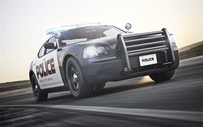 Dodge Charger Pursuit, exterior, police Charger, Special Service Vehicles, American Police, American cars, Dodge