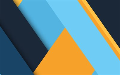 material design, blue and yellow, geometric shapes, colorful backgrounds, geometric art, creative, background with lines