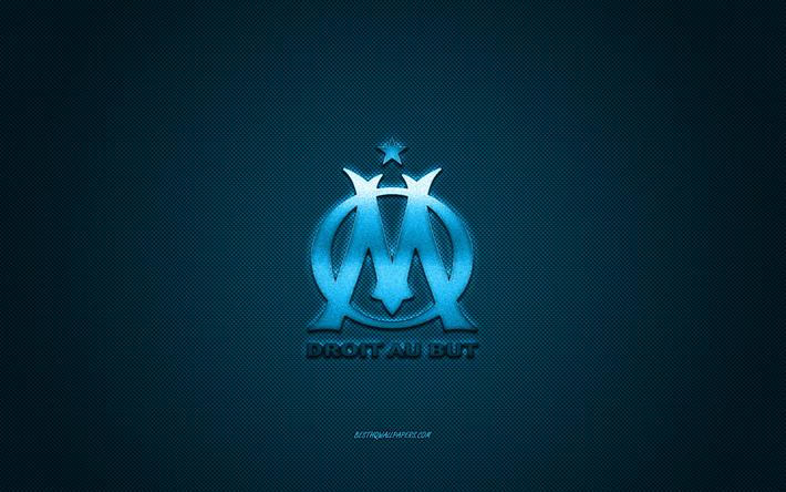 Scarica Sfondi Olympique Marsiglia Club Di Calcio Francese Blu