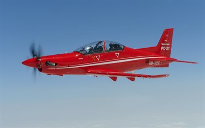 Pilatus PC-21, Swiss training aircraft, small planes, Pilatus Aircraft