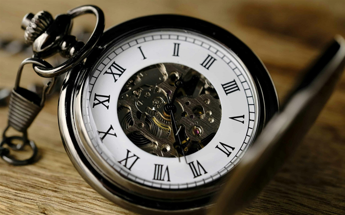 old pocket watch, vintage watch, retro watch, time concepts, mechanism