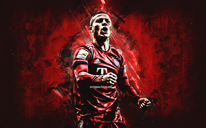 Herunterladen Hintergrundbild Thiago Alcantara Fc Bayern