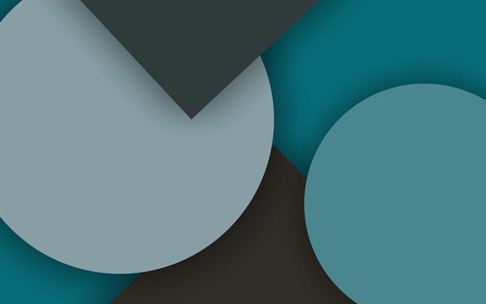 material design, blue and gray, geometry, circles, geometric shapes, lollipop, lines, creative, strips, blue backgrounds