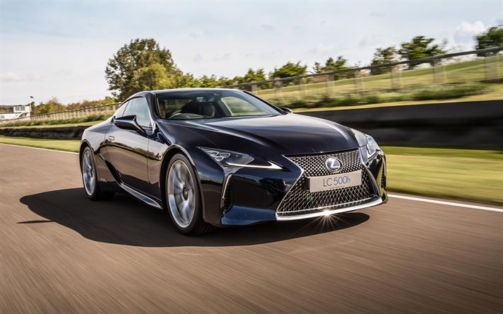 Descargar Fondos De Pantalla Lexus Lc 500h 2017 Supercar