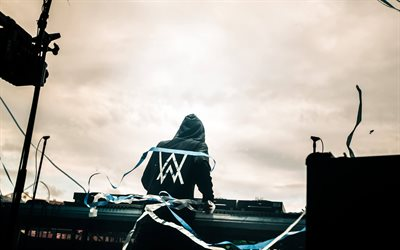 Alan Walker, concert, superstars, 4k, stage, DJ Alan Walker, DJs