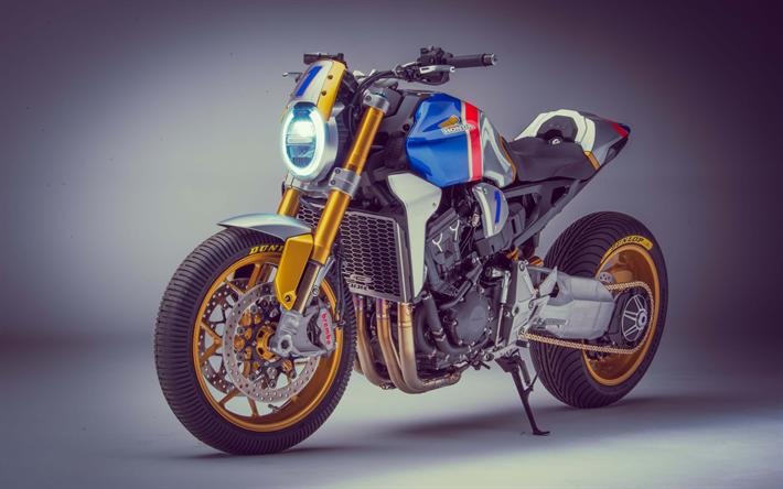 Download Wallpapers Honda CB1000R, 4k, Superbikes, 2018