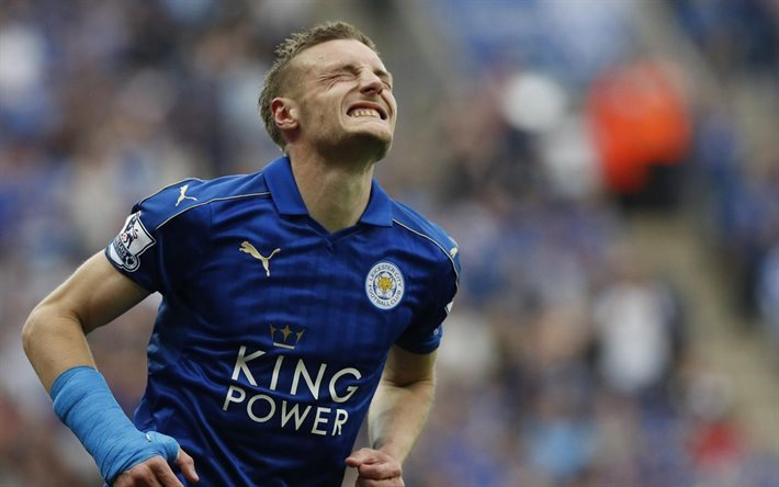 Jamie Vardy, Leicester City, Football, Premier League, England