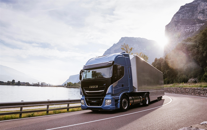 IVECO Stralis NP, 2018, new trucks, cargo transportation, delivery, IVECO