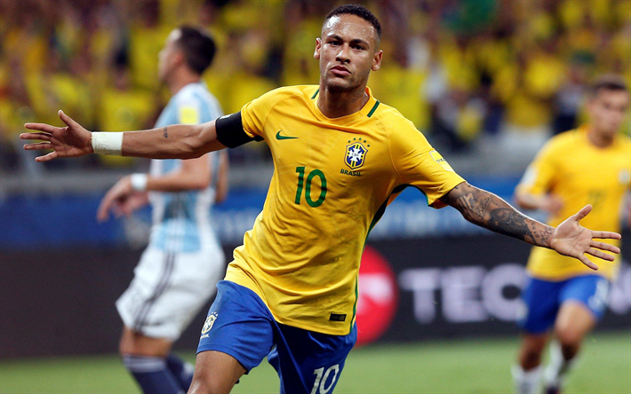 Image result for neymar jr national team