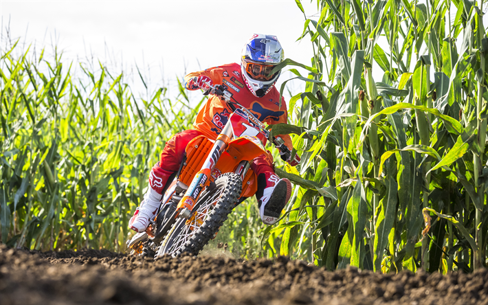 Download Wallpapers Ryan Dungey, 4k, Motocross, Red Bull