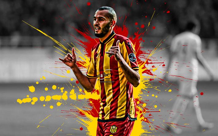 Download Wallpapers Khalid Boutaib 4k Moroccan Football