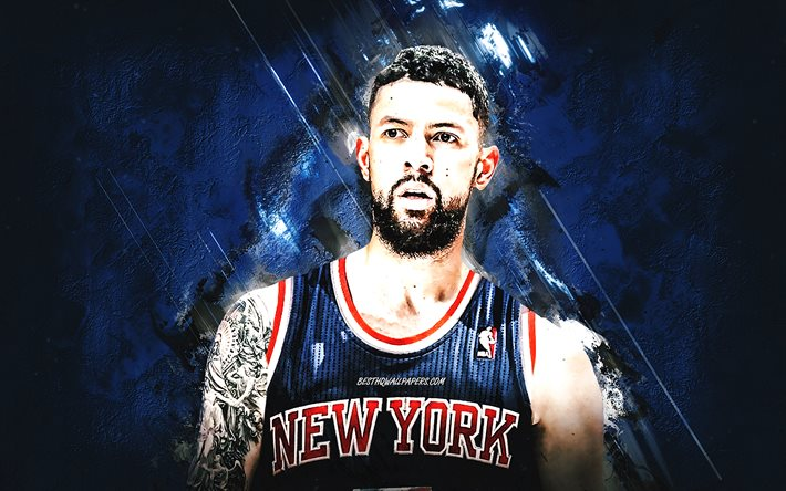 Download Wallpapers Austin Rivers New York Knicks Nba American Basketball Player Basketball Blue Stone Background For Desktop Free Pictures For Desktop Free