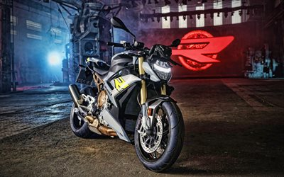 BMW S1000R, 4k, garage, 2020 bikes, superbikes, german motorcycles, BMW
