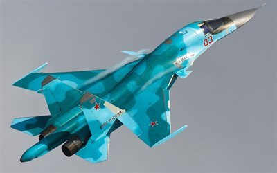 SU-34, Russian Air Force, bomber, Russian warplanes