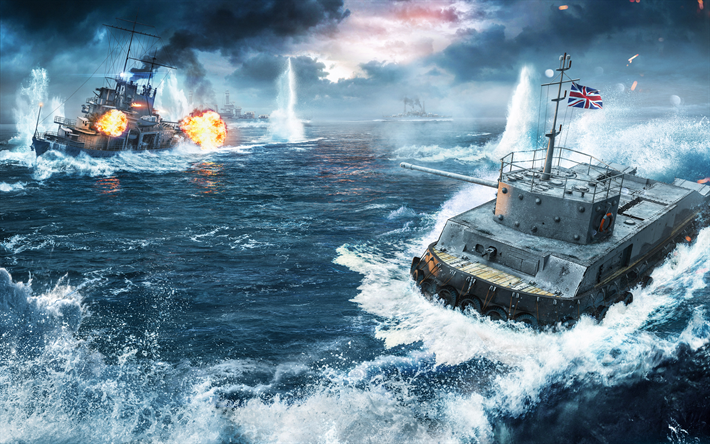 WoWS 4k Battle World Of Warships