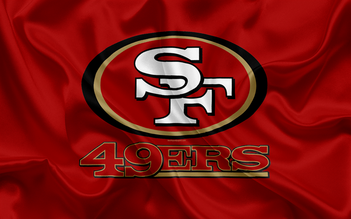 Download Wallpapers San Francisco 49ers, American Football