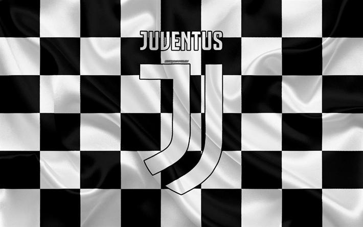 Scarica Sfondi Juventus Fc 4k Logo Creativo Arte Bianco E Nero