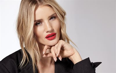 4k, Rosie Huntington-Whiteley, 2018, photoshoot, Victorias Secret, portrait, beauty, british supermodel, superstars