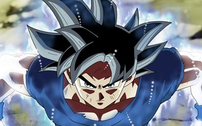 Goku, 4k, Dragon Ball Super, DBS, characters, Son Goku