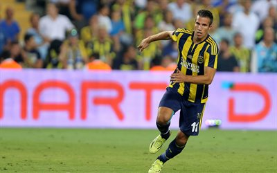 Robin van Persie, soccer, footballers, Turkish Super Lig, Fenerbahce, football