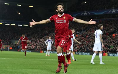 Mohamed Salah, Egyptian football player, Liverpool, Premier League, England, football