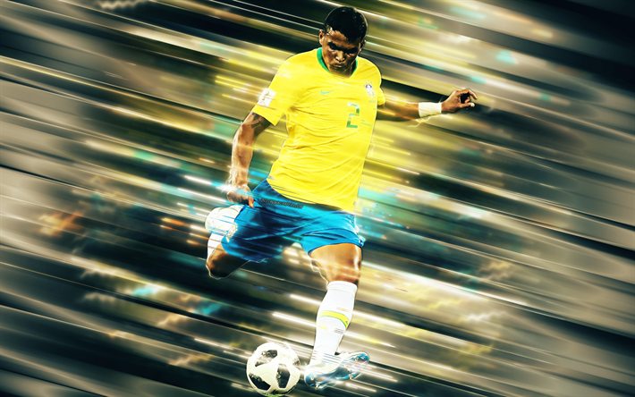 Thiago Silva, Brazil national football team, Brazilian football player, defender, center back, Brazil, soccer
