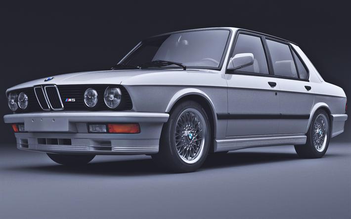 скачать обои Bmw M5 Studio E28 Tuning Bmw 5 Series German Cars
