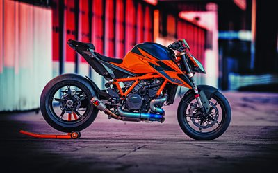 KTM 1290 Super Duke, 4k, side view, 2019 bikes, superbikes, 2019 KTM 1290 Super Duke, KTM