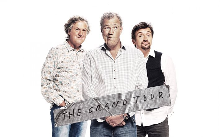 The Grand Tour, Jeremy Clarkson, James May, Richard Hammond