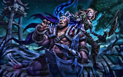 Download Wallpapers Orc Sylvanas Windrunner Warriors World Of