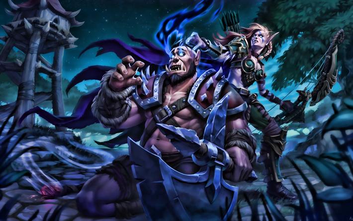 Download Wallpapers Orc Sylvanas Windrunner Warriors