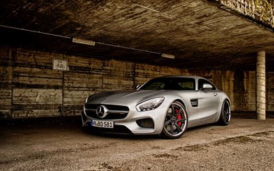 roadster, Mercedes-AMG GT, supercars, C190, sportcars, Mercedes