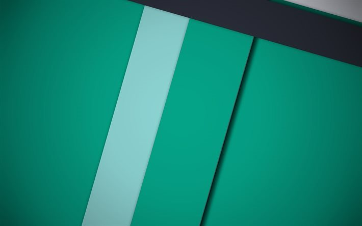 strips, green material, geometry, lines